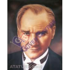 100x150 Atatürk Portresi 04